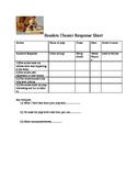 Reader's Theater response Sheet