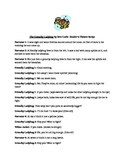 Reader's Theater script for The Grouchy Ladybug by Eric Carle