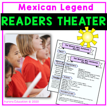 Readers Theater scripts to Improve Fluency: A Mexican Legend
