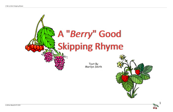 Readers Theatre - A Berry Good Skipping Rhyme
