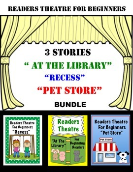 Readers Theatre For Beginners Bundle