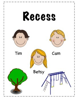"Readers Theatre For Beginners ""Recess"""