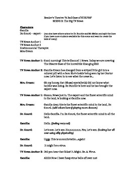 Reader's Theatre Full Class Script: A Bad Case of Stripes