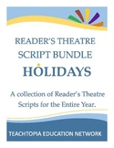 Readers Theatre Holiday Bundle - Readers Theatre  for Holidays throughout year