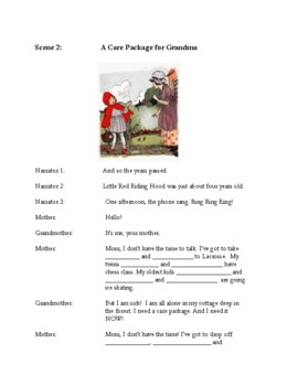 Readers Theater: Little Red Riding Hood