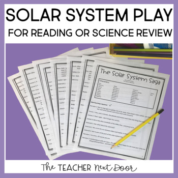 Reader's Theater: Solar System Play   Space Activity
