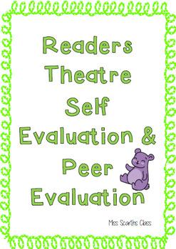 Readers Theatre Peer & Self Evaluations
