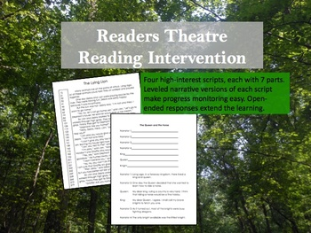 Readers Theatre Reading Intervention