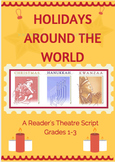 First Grade Reader's Theatre Scripts  BUNDLED  Holidays, Thanksgiving, Columbus