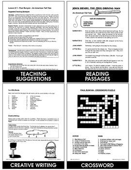 Reader's Theatre: Tall Tales Gr. 4-6