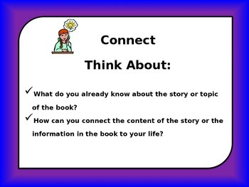 Readers Thinking Strategically: Making Connections Using Thinking Skills!