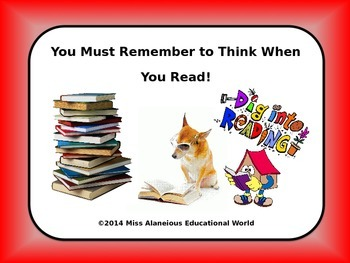 Readers Thinking Strategically: Making Connections Using T