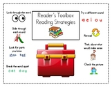 "Reader's Workshop ""Toolbox"" for teaching Reading Strategie"