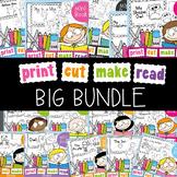 Emergent Readers Big Bundle for Kindergarten