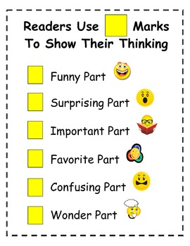 Readers Use Think Marks
