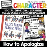 How to Apologize - Character Education | Social Emotional Learning SEL