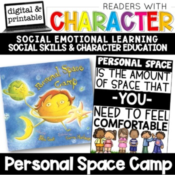 Personal Space - Character Education | Social Emotional Learning SEL