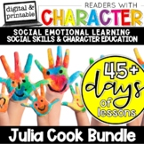 Readers With Character   SEL Social Emotional Learning   Julia Cook Bundle