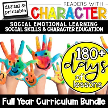 Readers With Character - Social Skills and Character Education Bundle