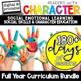 Character Education and Social Skills Curriculum   SEL Social Emotional Learning