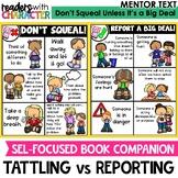 Tattling vs. Reporting - Character Education | Social Emotional Learning SEL