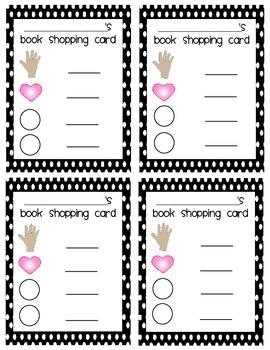 Reader's Workshop Book Shopping Cards--FREEBIE!!