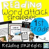 1st Grade Reading ~ Word Attack Strategies ~ Reading Strategies 1st Grade