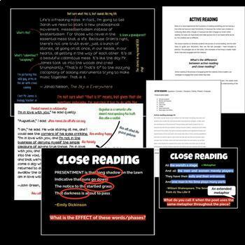 Reader's Workshop: Active Reading Mini-Lessons