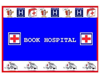 Readers' Workshop - Book Hospital sign/poster