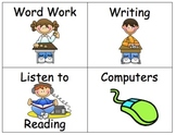 Reader's Workshop Center Signs & Labels for your Classroom