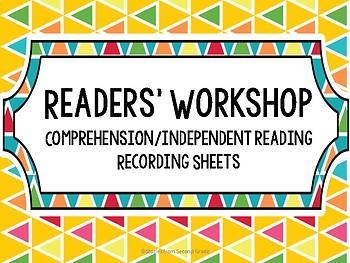 Readers' Workshop Comprehension Recording Sheets