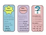 Reader's Workshop Comprehension Strategy Bookmarks