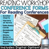 Reader's Workshop Conferring Notes and Conference Forms