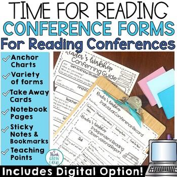 Reader's Workshop Conferring Notes   Reading Conference Form
