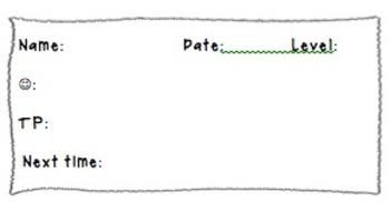 Reader's Workshop Conference Note Labels for Teacher Management