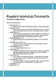 Reader's Workshop Pack