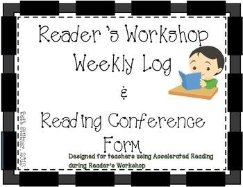 Reader's Workshop Forms