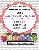 Readers Workshop Gr.1  Unit 3 Lesson Plan Bundle Readers H