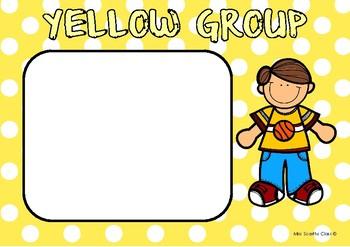 Readers Workshop Groups & Schedule Cards Pack