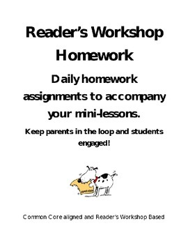 Reader's Workshop Homework Connections