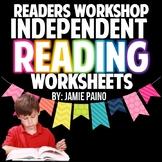 Reader's Workshop & Independent Reading Activities