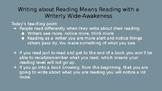 Readers Workshop Interpretation Book Clubs Session 3