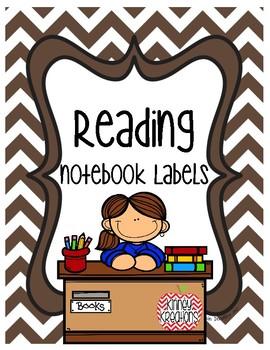 Readers Workshop Journal Labels