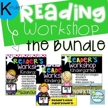Readers Workshop Kindergarten Units of Study BUNDLE