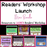 Readers Workshop Launch Mini Bundle of Reading Minilessons & Student Printables