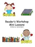 Reader's Workshop Mini Lessons (Complete 2)