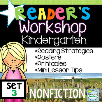 Readers Workshop Kindergarten ~ Nonfiction Reading Unit