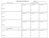 Reader's Workshop Notetaking Form!