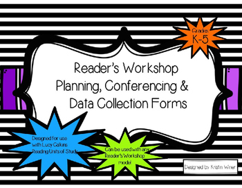 Readers Workshop Planning, Conferencing, Data Collection-r