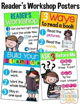 Reader's Workshop Posters